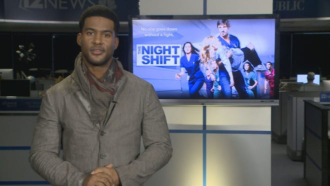 """J.R. Lemon plays Kenny on """"The Night Shift,"""" which airs on Mondays at 9 p.m. on 12 News."""