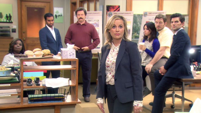 "From the series finale of ""Parks and Recreation."""