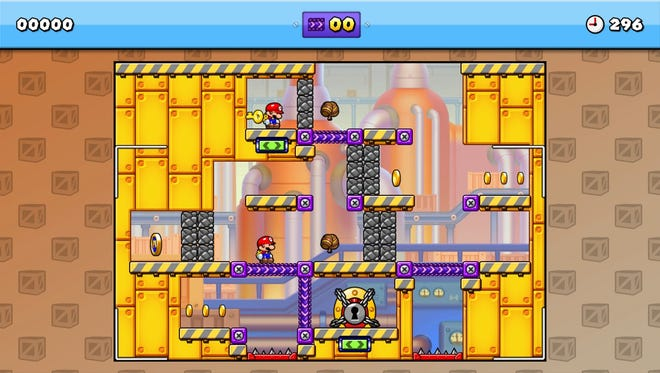 "Flex those brain muscles and solve puzzles in ""Mario vs. Donkey Kong: Tipping Stars."""