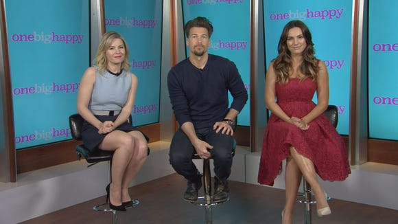 Elisha Cuthbert, Nick Zano and Kelly Brook will star in NBC's 'One Big Happy.'