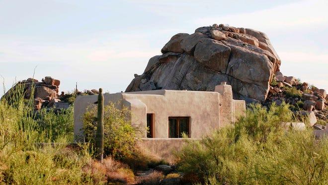 A casita at The Boulders Resort in Phoenix, near Carefree