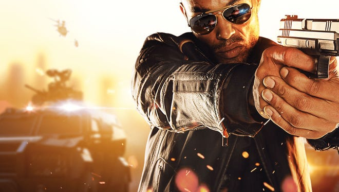 "Electronic Arts' first-person shooting franchise moves into the gritty streets of Miami in ""Battlefield: Hardline."""