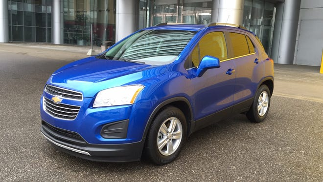 The 2015 Chevrolet Trax subcompact SUV got top safety scores from the NHTSA and IIHS