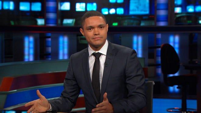 Trevor Noah on 'The Daily Show.'