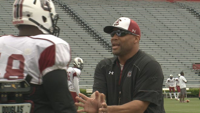 Deke Adams, whose previous coaching stops include South Carolina and recently North Carolina, is in talks to become Memphis' next defensive line coach