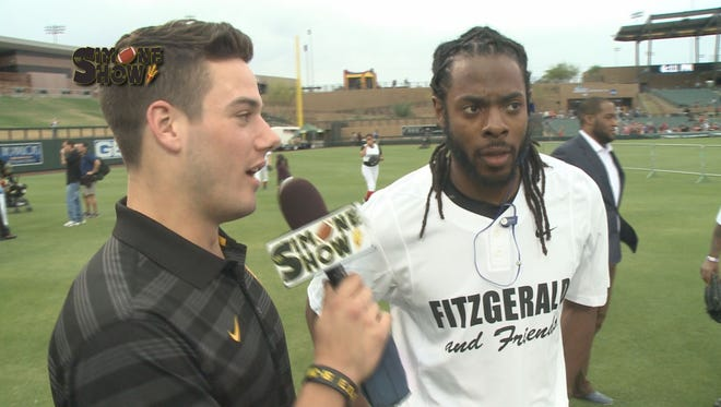 Jordan Simone takes the show on the road to Larry Fitzgerald's Softball Classic