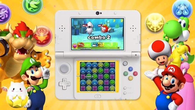 Puzzle and Dragons gets a Super Mario touch on the 3DS.