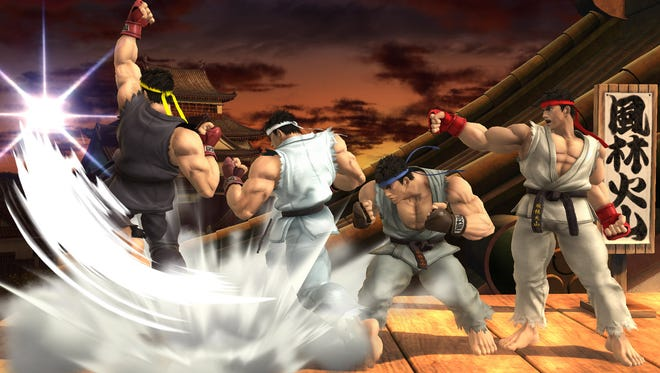 """Ryu has been part of Capcom's """"Street Fighter"""" franchise since its beginning in 1987. The fighter is now available to take part in """"Super Smash Bros."""" on Nintendo's Wii U and 3DS systems."""