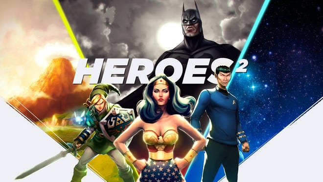 "Heroes return in Loot Crate's ""Heroes 2"" box of assorted items for July 2015."