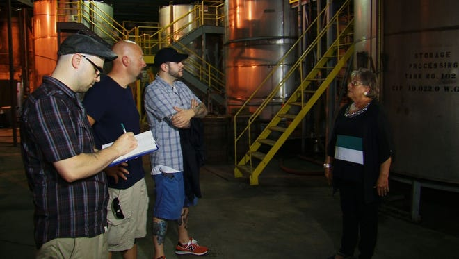 """Wild Turkey's episode, titled """"Barrels of Boos,"""" will air at 9 p.m. Wednesday."""