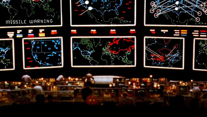 "A teenager accidentally unleashes a nuclear scare with his computer in 1983's Cold War drama ""WarGames."""