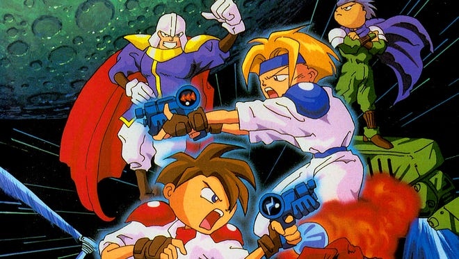 """The """"3D Gunstar Heroes"""" re-release for the Nintendo 3DS is a blast from the past."""