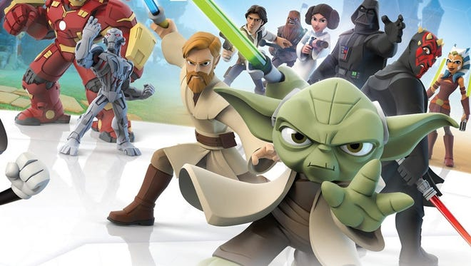 "Disney's toy-based game franchise returns with Jedi in tow in ""Disney Infinity 3.0: Star Wars."""