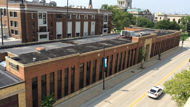 The Columbus Offices building, 414 E. Walnut St., was recently sold to Rachel and Ron Smits