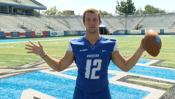 Quarterback Brent Stockstill, who had a standout career