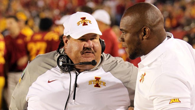 Former Iowa State Cyclones offensive coordinator Mark Mangino spoke for the first time publicly about his strange divorce from Iowa State.