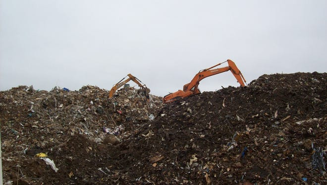 Photo from Rolling Hills landfill taken by FDEP in February.
