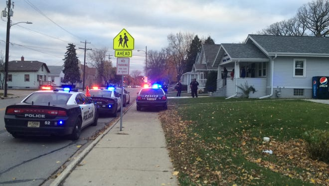 Green Bay police investigated to a mistaken report of gunfire Friday afternoon in a residence in the 800 block of Shawano Avenue