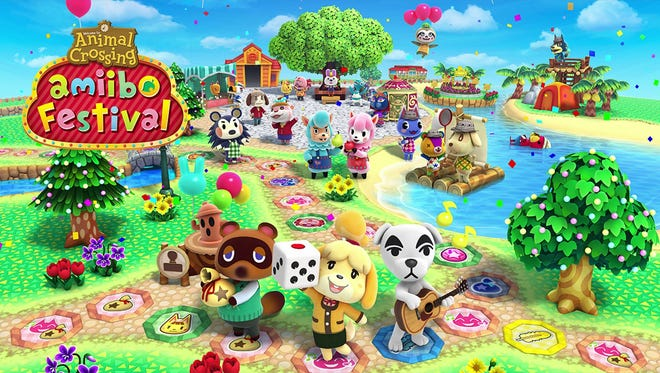 Animal Crossing Amiibo Festival for the Wii U.