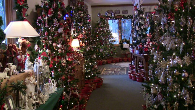 Though it may seem counterintuitive, The Christmas Chalet is at its busiest during the summer months, Stiegler said.