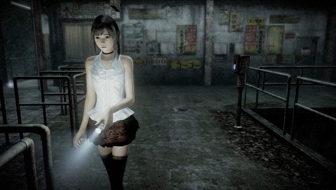 Fatal Frame: Maiden of Black Water.