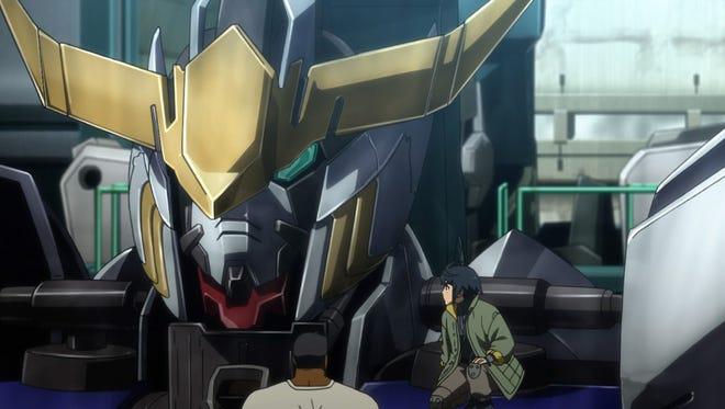 "Gundam Iron-Blooded Orphans, Episode 12, ""The Shoals."""