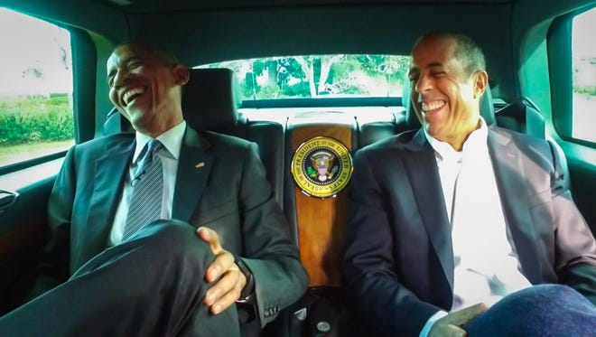 President Obama is Jerry Seinfeld's first guest for Season 7 of 'Comedians in Cars Getting Coffee.'