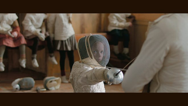 """A scene from """"The Fencer."""""""