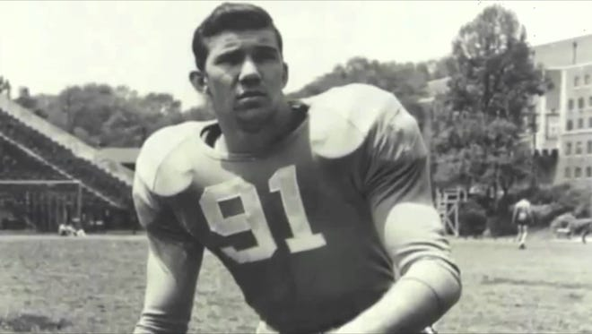 Doug Atkins, one of the most prominent names in University of Tennessee football and Humboldt sports history, died this morning at the age of 85.