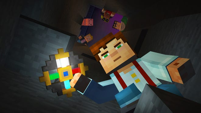 """The gang gets in deep in """"Minecraft Story Mode Episode 3: The Last Place You Look."""""""