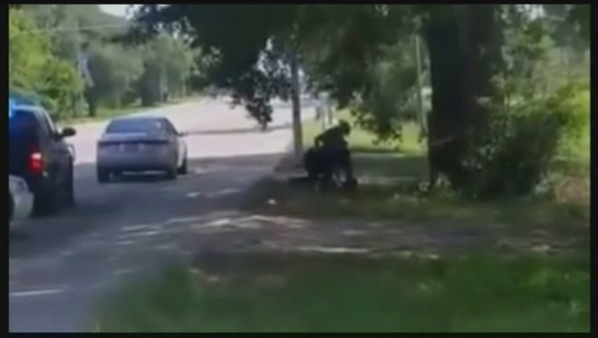 Dashcam video of Sandra Bland's arrest.