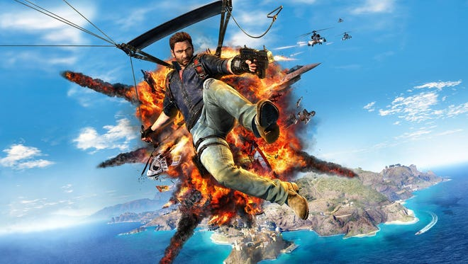 """There's crazy. Then there's the kind of stuff that happens in """"Just Cause 3."""""""