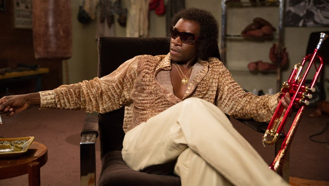 Don Cheadle directs and stars in the Miles Davis movie 'Miles Ahead.'