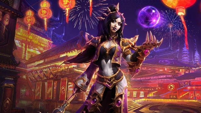 Diablo III wizard Li-Ming joins Heroes of the Storm right in time for Chinese New Year.