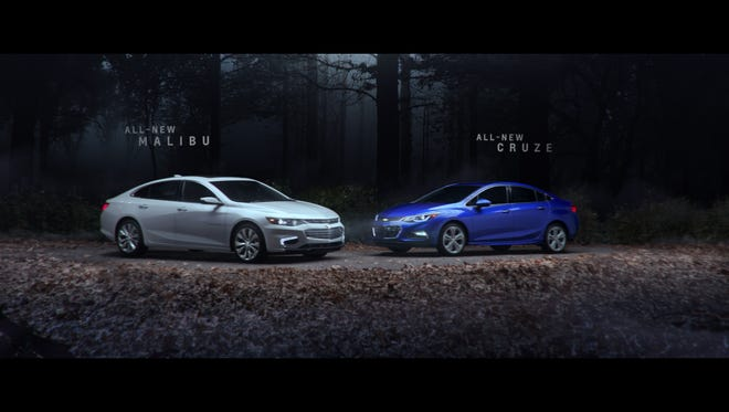 Chevrolet began airing a new advertisement over the weekend in movie theaters that mimics a movie trailer.