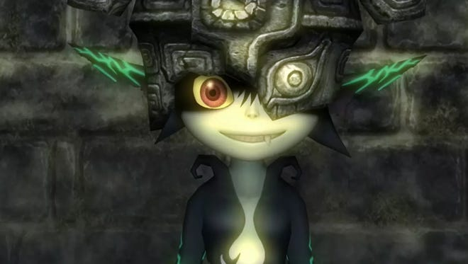 Midna in Legend of Zelda Twilight Princess HD for the Nintendo Wii U.