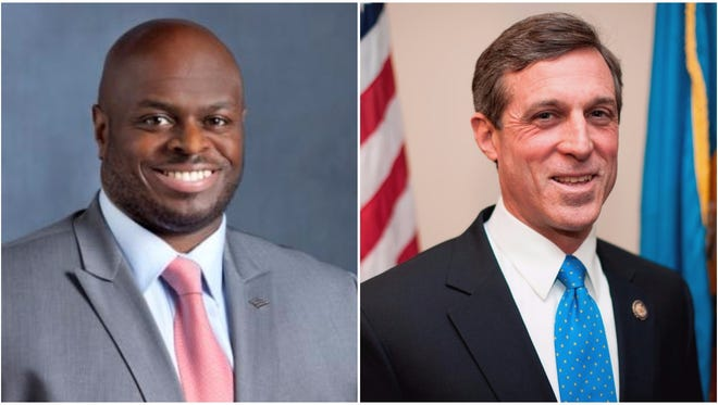 Tony Allen (left) and U.S. Rep. John Carney, D-Del., will be honored at the New Castle County Chamber of Commerce's 2016 Annual Dinner on March 10.