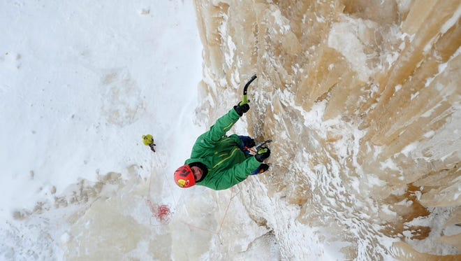 The Michigan Ice Film is focused on the unique sport of ice climbing in the Upper Peninsula. Professional climber Sam Elias was born and raised in southeast Michigan but left his home state as a teenager. Sam's return to explore the northern culture of Munising and the big, potentially unclimbed backcountry ice of Pictured Rocks National Lakeshore is at the heart of the Michigan Ice Film.