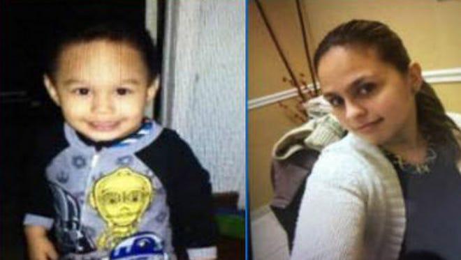 AMBER ALERT: Logan Hernandez may be in the company of Leydibet Hernandez.