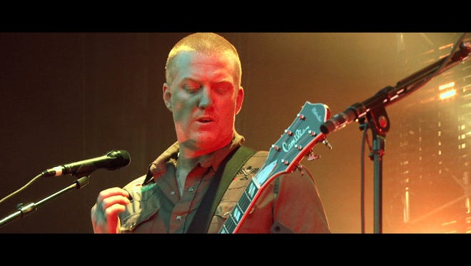 """Josh Homme, seen here in the German film, """"Lo Sound Desert,"""" is seen in two documentary films about the Coachella Valley underground rock scene premiering this month."""