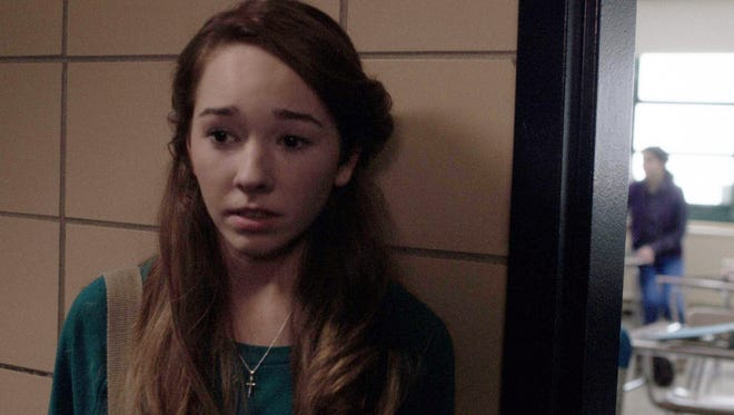 Paige (Holly Taylor), the American-born daughter of undercover Soviet Spies, has a lot on her mind in FX's 'The Americans.'