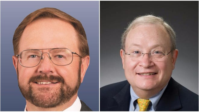 Chuck Edwards and Frank Moretz