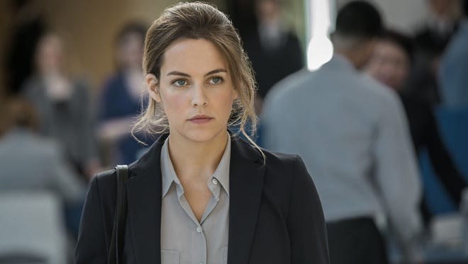 Riley Keough plays a law student with a second job in the Starz' movie 'The Girlfriend Experience.'