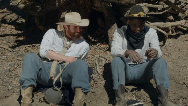"""Israel Hall, left, and Craig Tate, right, star in """"Buffalo,"""" a short film by Julian Alexander. Alexander is a graduate of NMSU's Creative Media Institute, and """"Buffalo"""" was recently selected to be screened at the Short Film Corner at the Cannes Film Festival."""