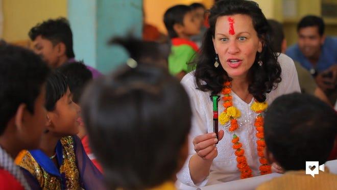 Caroline Boudreaux created The Miracle Foundation, an NGO that provides resources to rural orphanages in India.