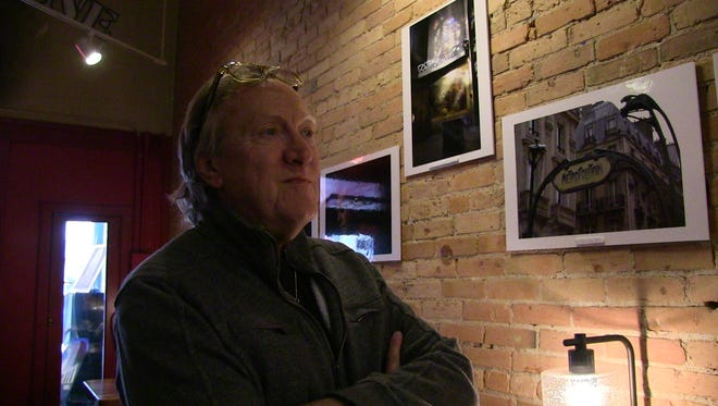 Photographer John Grap's work will be on display through June 4 at Brownstone Coffeehouse in Battle Creek.