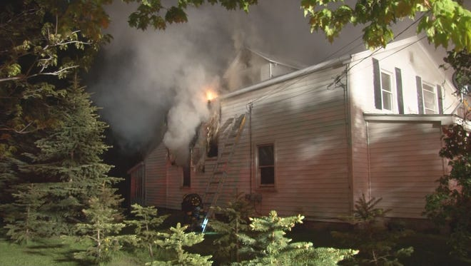 Fire in Batavia claimed the lives of two young children Friday, May 20, 2016.