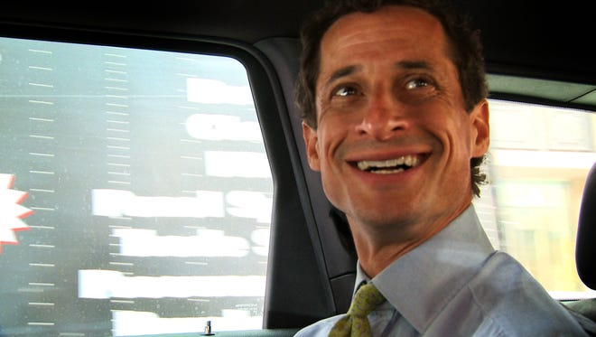 "Anthony Weiner's campaign for New York  mayor is the focus of the documentary ""Weiner."""