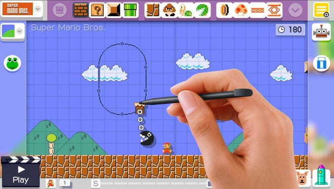"In the video game ""Super Mario Brothers Maker"" for the Wii U, players are tasked with creating their very own Mario level — and an Arkansas man used it to propose to his girlfriend."