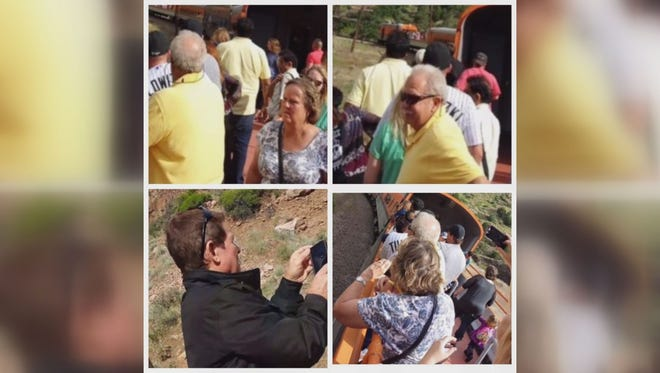 Investigators would like to see any video taken by these potential witnesses on the Royal Gorge train.